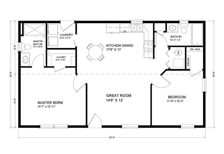 1,000 to 1,500 sq. ft. Ranch Floor Plans | Advanced Systems ... on house plans under 600 sq ft, house plans under 1100 sq ft, house plans under 2500 sq ft, house plans under 1300 sq ft, house plans under 1600 sq ft, house plans under 2100 sq ft, house plans under 400 sq ft, house plans under 1900 sq ft, house plans under 2400 sq ft, house plans under 800 sq ft, house floor plans under 1000 sq ft, house plans under 1800 sq ft, house plans under 1200 sq ft, house plans under 700 sq ft, house plans under 300 sq ft, house plans under 900 sq ft,